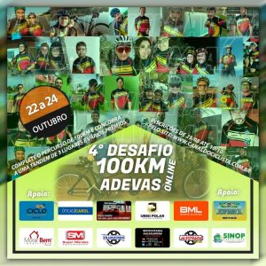 4º Desafio Adevas 100KM on-line
